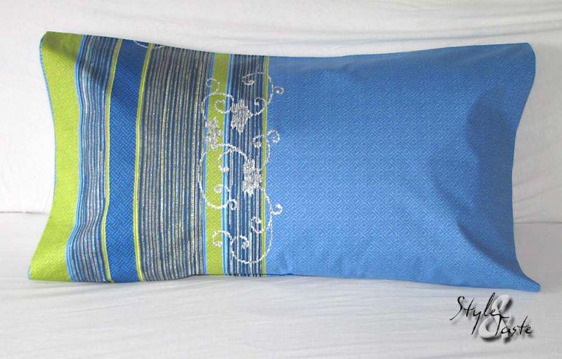 kissenh lle hoggar blau 50x80 herst bassetti ke bello. Black Bedroom Furniture Sets. Home Design Ideas