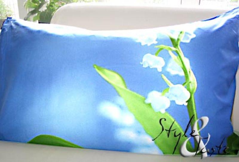 kissenh lle maigl ckchen blau 50x80 herst zucchi ke bello. Black Bedroom Furniture Sets. Home Design Ideas