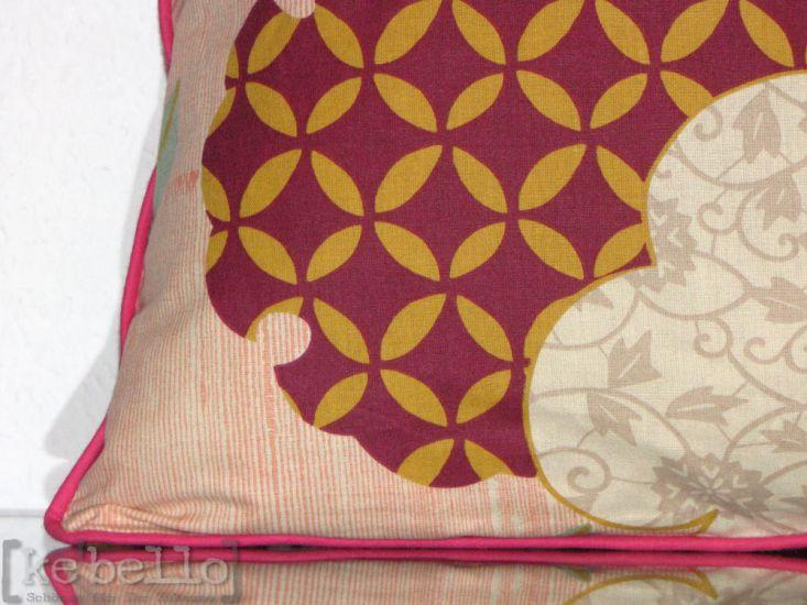 bassetti kissenh lle komon rosa ke bello. Black Bedroom Furniture Sets. Home Design Ideas