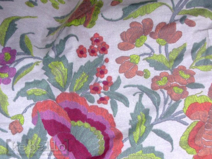plaid botticelli v1 pink gr n 190x135 herst bassetti sofadecke ke bello. Black Bedroom Furniture Sets. Home Design Ideas